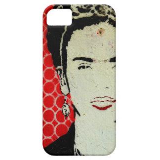 Capa Para iPhone 5 Caso do móbil de Frida