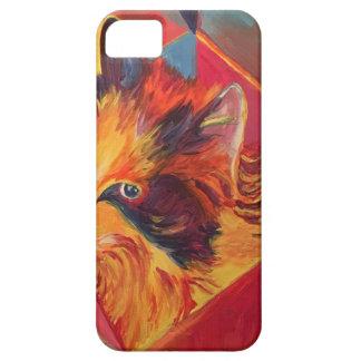 CAPA PARA iPhone 5 CAT COLORIDO DO POP ART