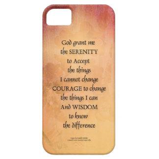 Capa Para iPhone 5 Cerca uma do marmelo da oração da serenidade