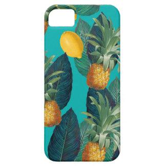 Capa Para iPhone 5 cerceta do pineaple e dos limões