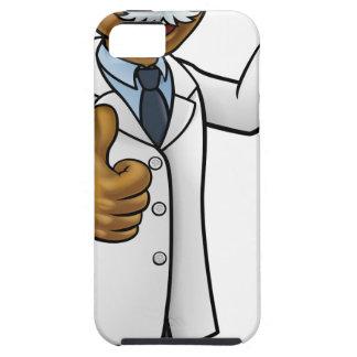 Capa Para iPhone 5 Cientista dos desenhos animados que guardara o