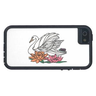 Capa Para iPhone 5 Cisne 2