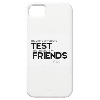 Capa Para iPhone 5 CITAÇÕES: Cicero: Confiança dos amigos