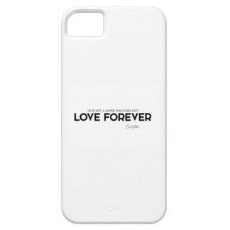 Capa Para iPhone 5 CITAÇÕES: Euripides: Amor para sempre