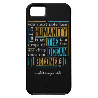 Capa Para iPhone 5 Citações por Mahatma Gandhi