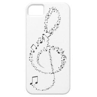Capa Para iPhone 5 Clave de Sol Músical