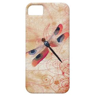 Capa Para iPhone 5 Cobrir do iPhone 5/5S do Flourish da libélula