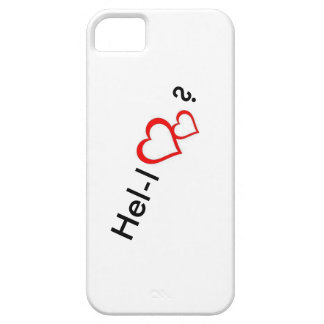 Capa Para iPhone 5 cobrir do iphone olá! 2 corações