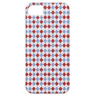 Capa Para iPhone 5 Cobrir do telefone de Argyle