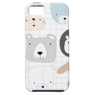 Capa Para iPhone 5 Coelho bonito da criança e do coelho do urso de