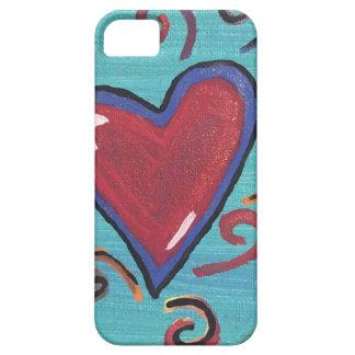 Capa Para iPhone 5 Coleção vermelha dos corações