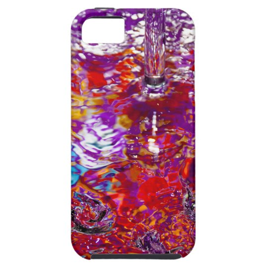 Capa Para iPhone 5 Colorful Waters Abstract Photo