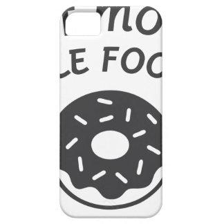 Capa Para iPhone 5 Coma mais alimentos do furo