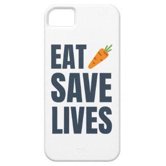 Capa Para iPhone 5 Coma o Vegan - vidas das economias