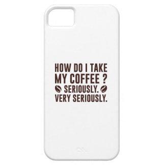 Capa Para iPhone 5 Como I toma meu café