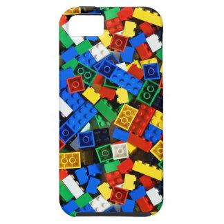 Capa Para iPhone 5 Construção dos tijolos da construção dos blocos de