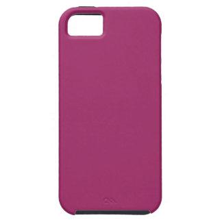 Capa Para iPhone 5 Cor P29 cor-de-rosa magenta harmoniosa optimista