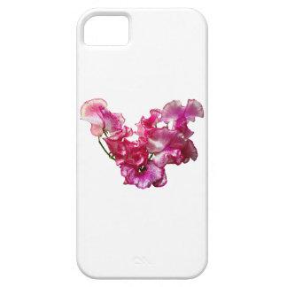 Capa Para iPhone 5 Coração cor-de-rosa da ervilha doce