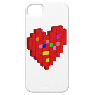 Capa Para iPhone 5 coração de 8 bits
