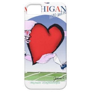 Capa Para iPhone 5 coração principal de michigan, fernandes tony