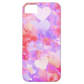 Capa Para iPhone 5 Corações da cor de água