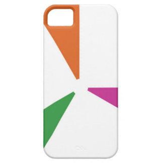 Capa Para iPhone 5 Cores coloridas do teste padrão 3