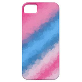 Capa Para iPhone 5 Cores do arco-íris do algodão doce