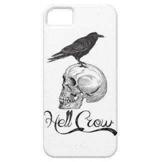 Capa Para iPhone 5 Corvo o Dia das Bruxas do inferno