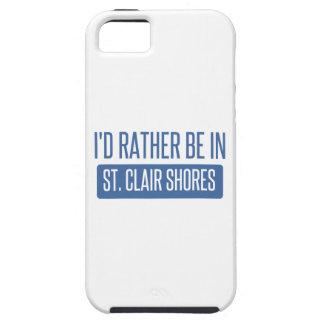 Capa Para iPhone 5 Costas do St. Clair