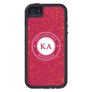 Capa Para iPhone 5 Crachá alfa da ordem | do Kappa