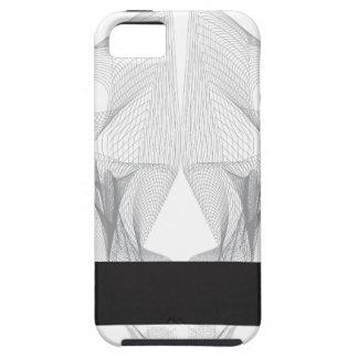 Capa Para iPhone 5 Crânio abstrato do urso