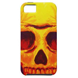 Capa Para iPhone 5 Crânio do esboço