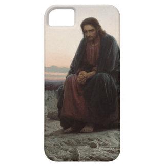 Capa Para iPhone 5 Cristo na região selvagem - belas artes de Ivan