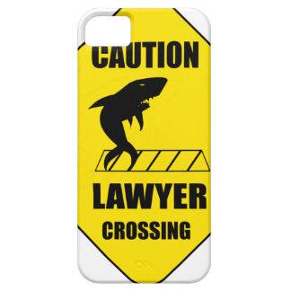 Capa Para iPhone 5 Cruzamento do advogado com tubarão