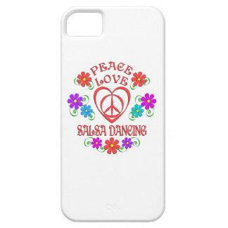 Capa Para iPhone 5 Dança da salsa do amor da paz