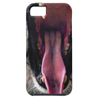 Capa Para iPhone 5 Dentes do rolamento do tigre