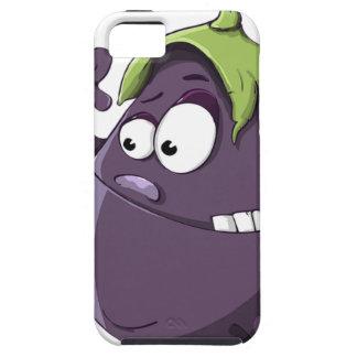 Capa Para iPhone 5 Desenhos animados Toothy Eyed da beringela vegetal
