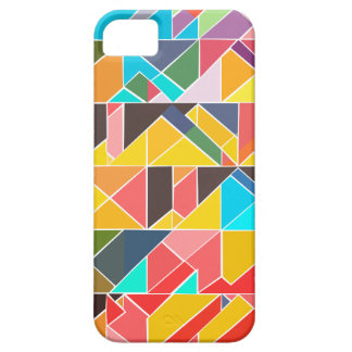 Capa Para iPhone 5 Design abstrato triangular