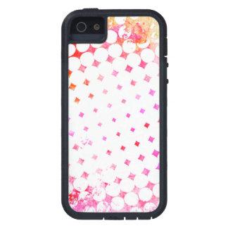 Capa Para iPhone 5 Design de explosão cor-de-rosa da banda desenhada