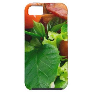 Capa Para iPhone 5 Detalhe de uma placa com tomates de cereja, ervas