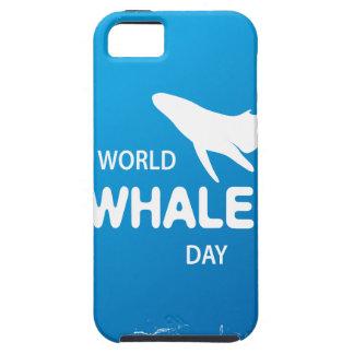 Capa Para iPhone 5 Dia da baleia do mundo - dia da apreciação