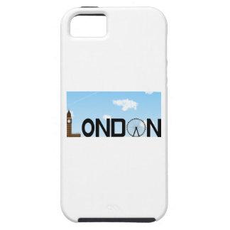 Capa Para iPhone 5 Dia da skyline de Londres
