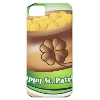 Capa Para iPhone 5 Dia de São Patrício feliz, feriado irlandês do