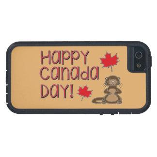 Capa Para iPhone 5 Dia feliz 3 de Canadá