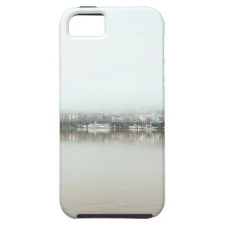 Capa Para iPhone 5 Dia nevoento no beira-rio de Portland OU de centro