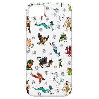 Capa Para iPhone 5 Divertimento do Dungeon e dos dragões D20