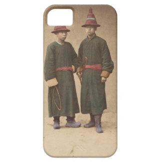 Capa Para iPhone 5 Dois homens chineses em combinar o vestido