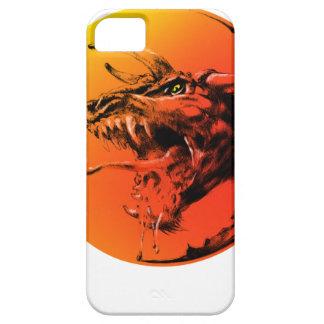 Capa Para iPhone 5 Dragão mau