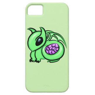 Capa Para iPhone 5 Dragão verde, ovo roxo do dragão