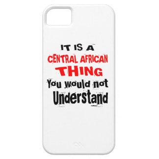 CAPA PARA iPhone 5 É DESIGN DA ÁFRICA CENTRAL DA COISA